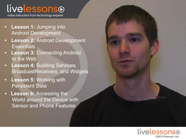 Essentials of Android Application Development LiveLessons (Video Training), Downloadable Version, The