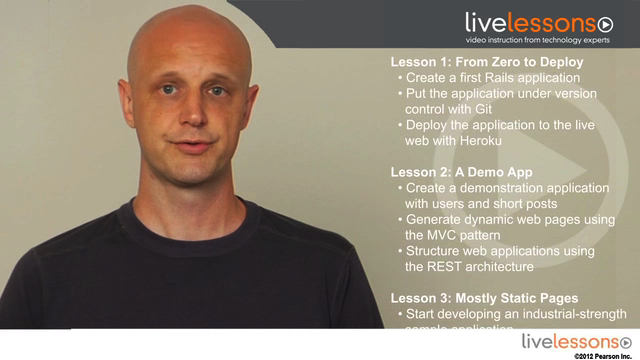 Ruby on Rails Tutorial LiveLessons (Video Training): Learn Web Development with Rails, Downloadable Video, 2nd Edition