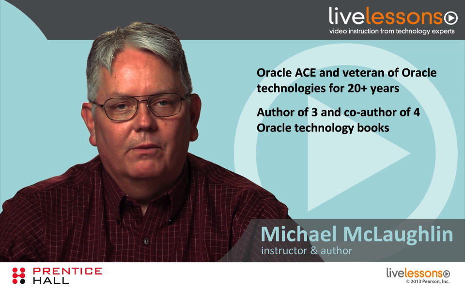 Introduction to Oracle Database 11g Administration LiveLessons (Video Training), Download Version