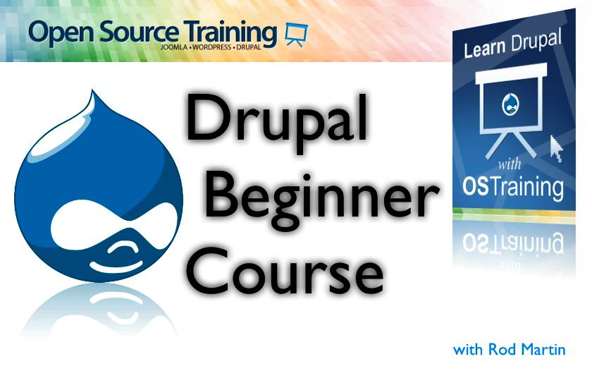 Drupal 7 Explained Video, Downloadable Version