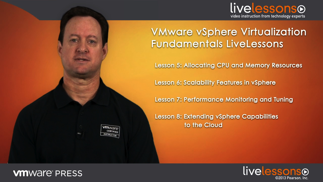 VMware vSphere Virtualization Fundamentals LiveLessons (Video Training), Downloadable