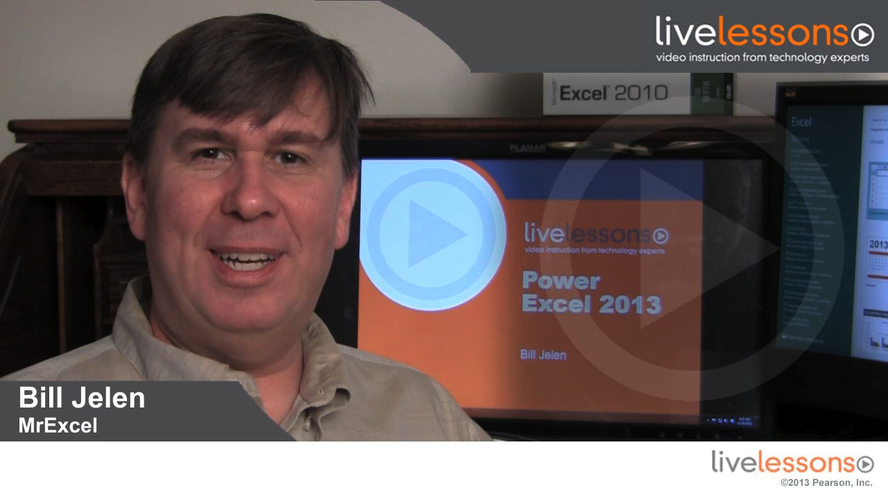 Power Excel 2013 with MrExcel LiveLessons (Video Training) , Downloadable Version