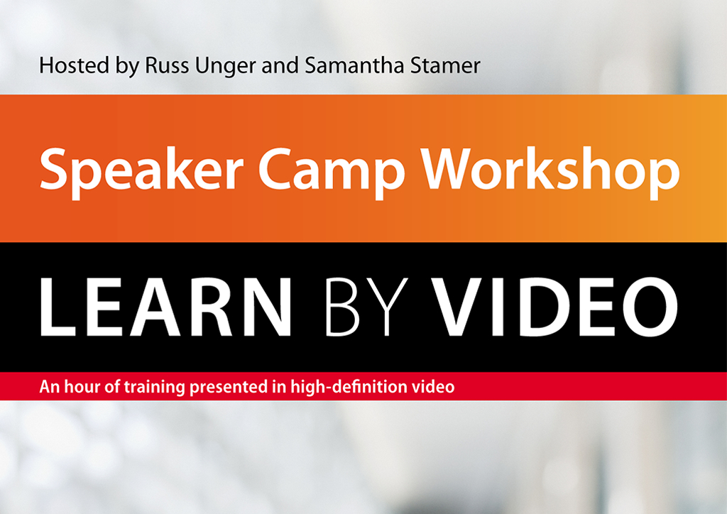Speaker Camp Workshop: Learn by Video