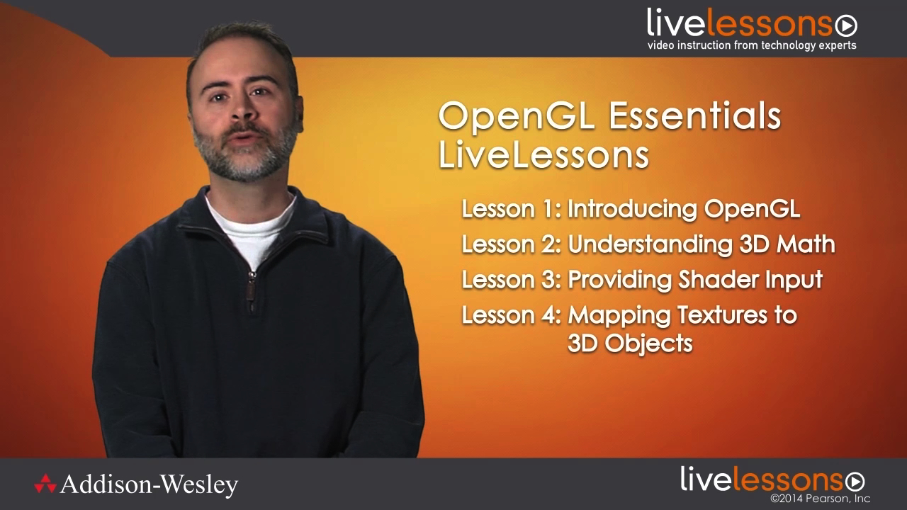 OpenGL Essentials LiveLessons (Video Training), Downloadable