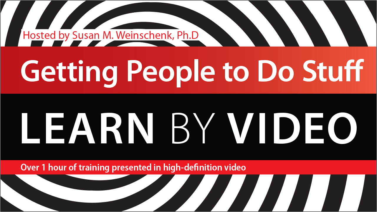 Getting People to Do Stuff: Learn by Video