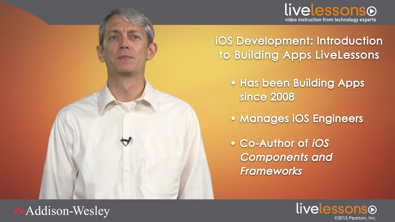 iOS 8 Development: Introduction to Building Apps LiveLessons (Video Training), Downloadable Version