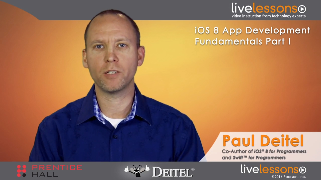 iOS 8 App Development Fundamentals with Swift LiveLessons Part I of II (Video Training)