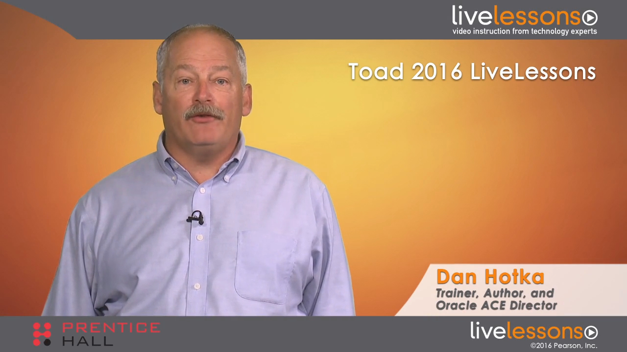 Toad for Oracle LiveLessons