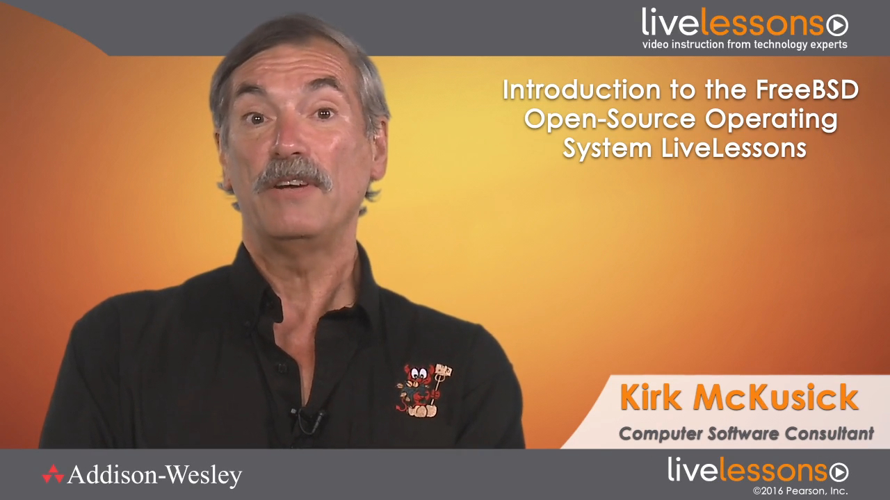 Introduction to the FreeBSD Open Source Operating System LiveLessons