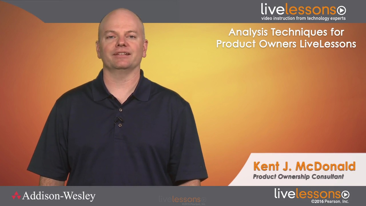 Analysis Techniques for Product Owners LiveLessons (Video Training)
