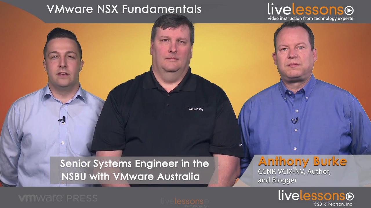 VMware NSX Fundamentals LiveLessons