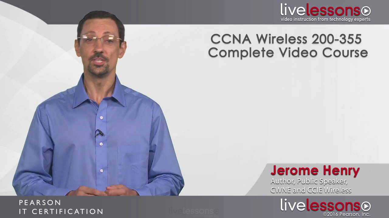 Ccna wireless 200 355 complete video course pearson it certification xflitez Choice Image