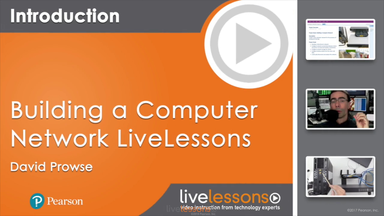 Building a Computer Network LiveLessons