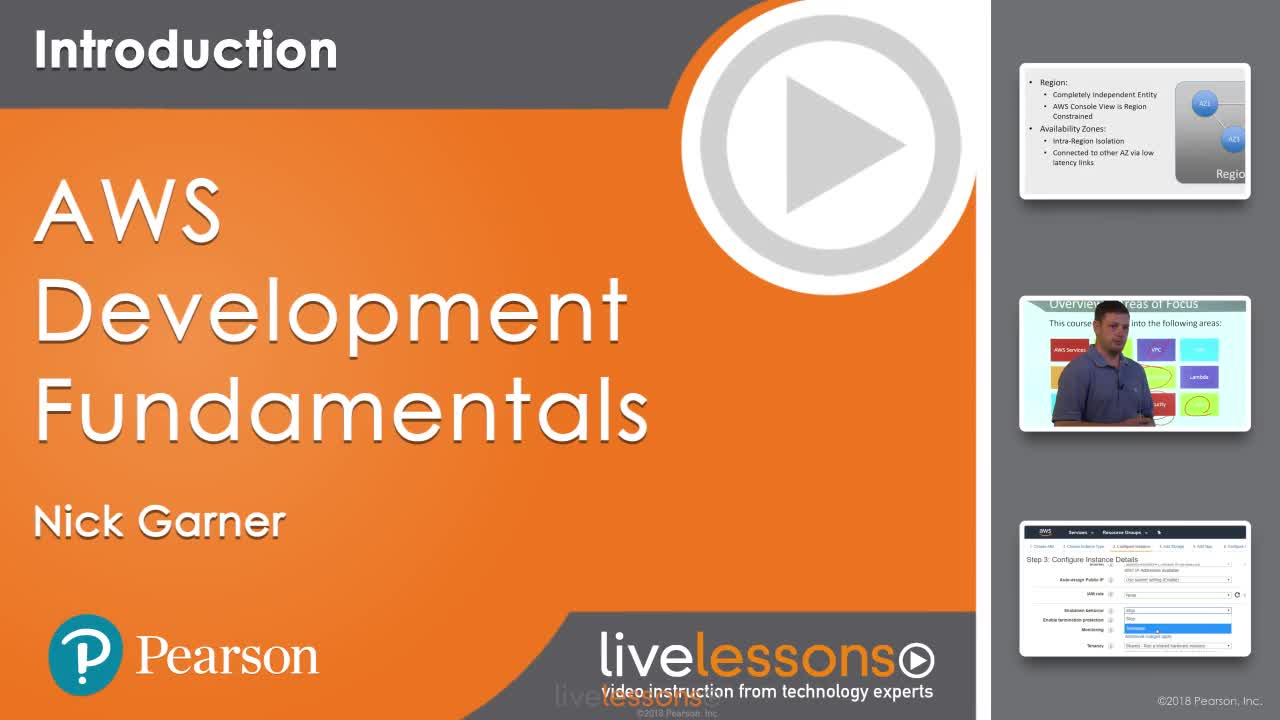 AWS Development Fundamentals LiveLessons