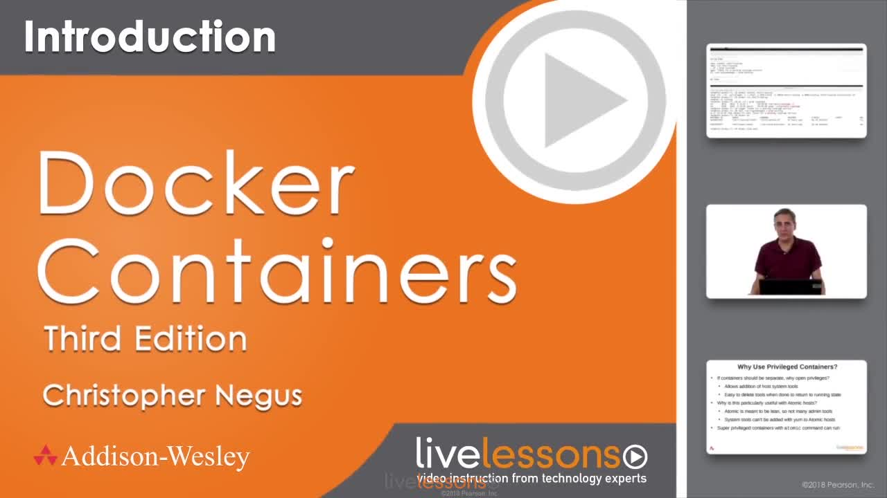 Docker Containers LiveLessons, 3rd Edition