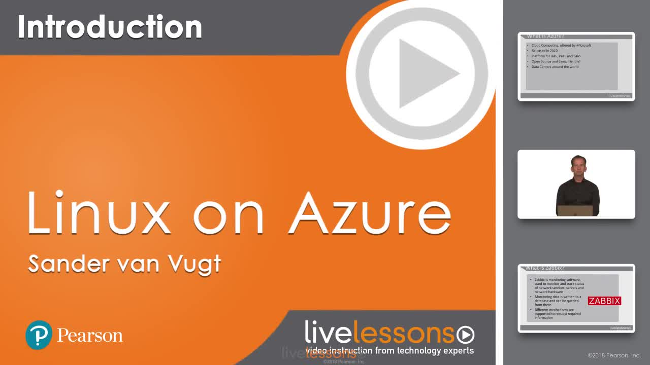 Linux on Azure LiveLessons: Deploying and Managing Linux on Azure