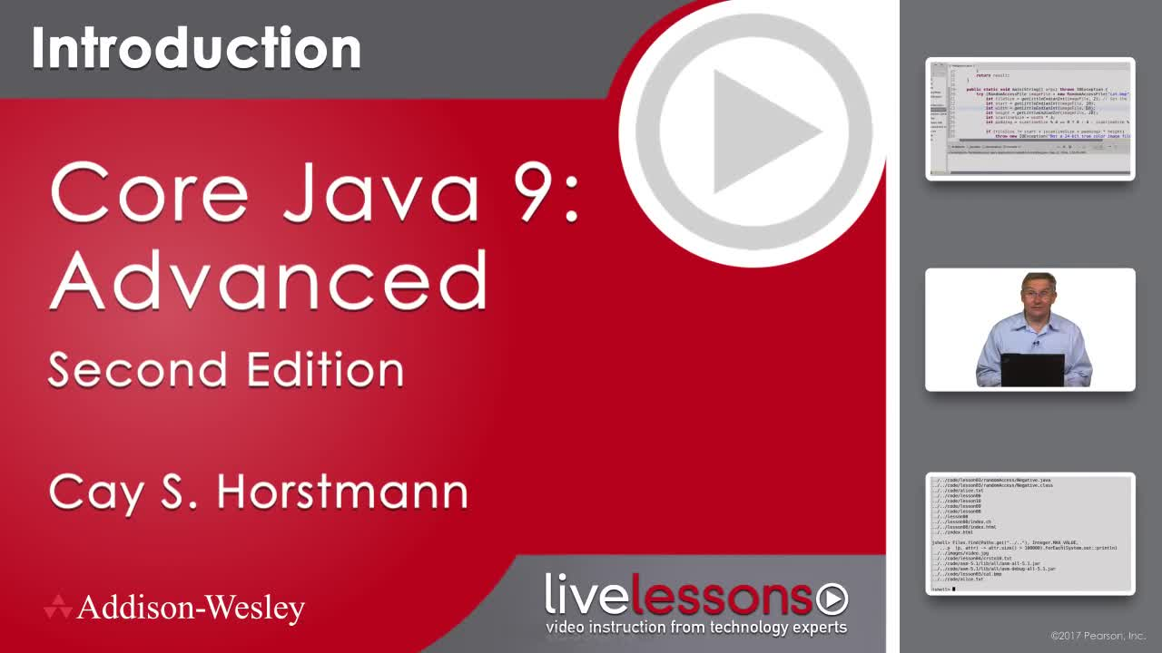 Core Java 9/10 Advanced Complete Video Course, 2nd Edition