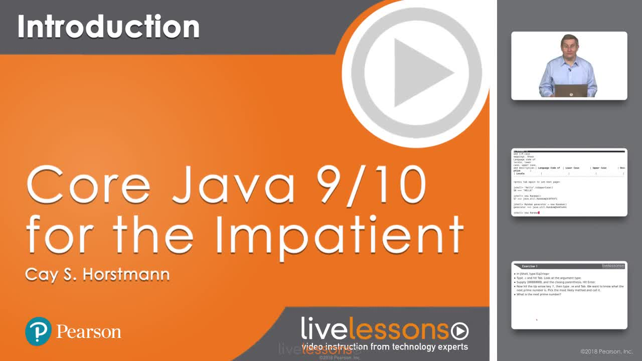 Core Java 11 for the Impatient LiveLessons (Video Training)