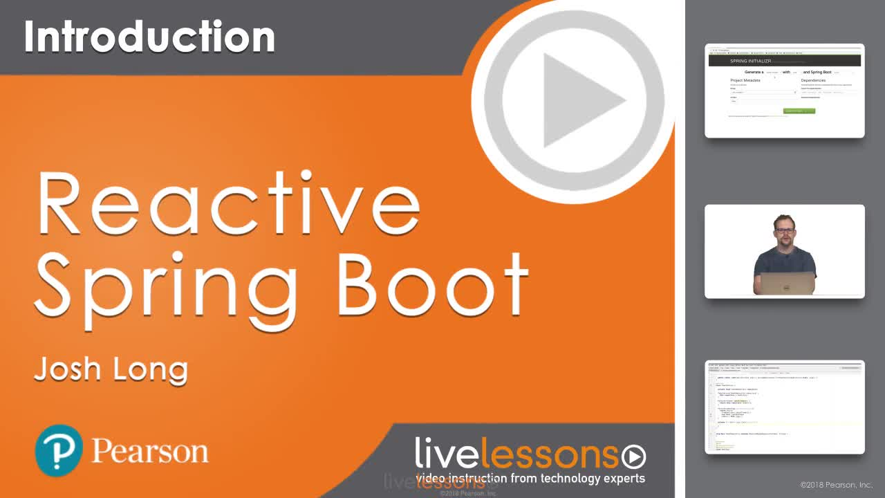 Reactive Spring Boot LiveLessons (Video Training) | InformIT