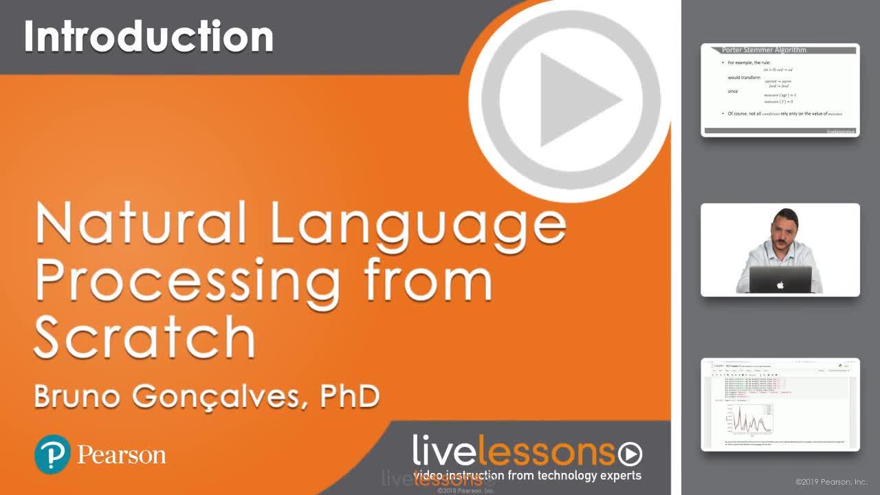 Natural Language Processing LiveLessons
