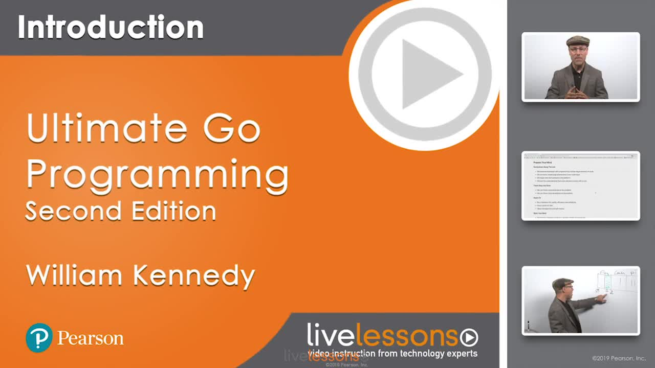 Ultimate Go Programming LiveLessons, Second Edition