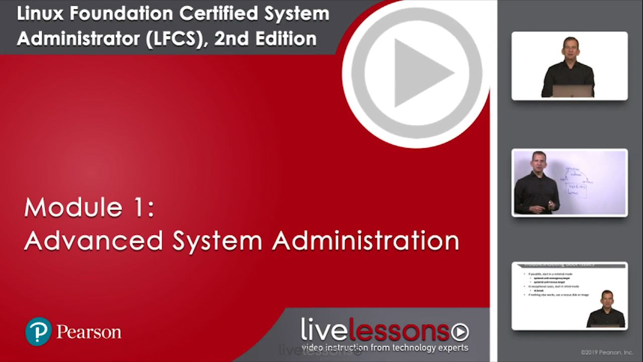 Linux Foundation Certified System Administrator (LFCS) Complete Video Course (Video Training), 2nd Edition