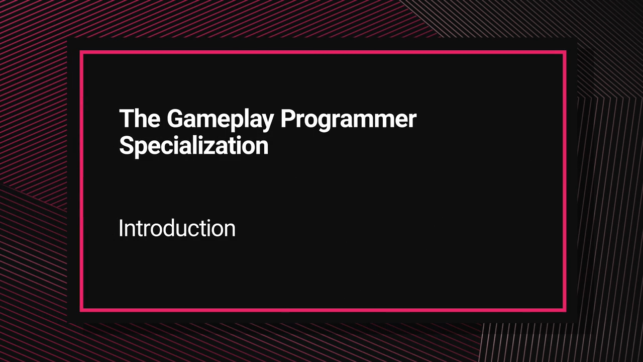 Unity Expert Gameplay Programmer Certification Courseware (Video Training)