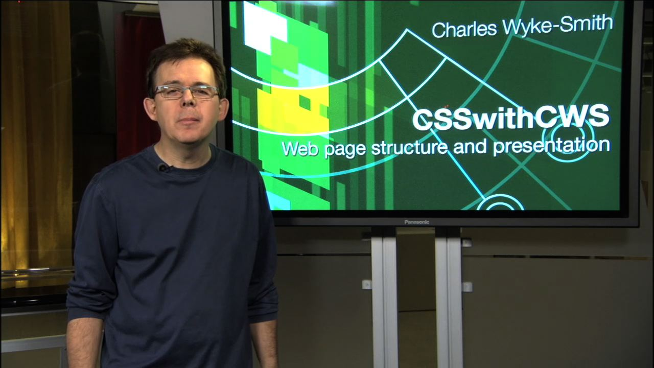CSS with CWS: An introduction to professional XHTML and CSS coding techniques, DVD