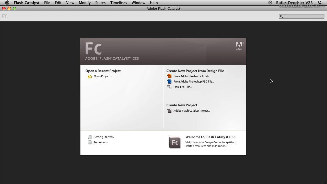 adobe flash catalyst cs5 learn by video peachpit rh peachpit com adobe flash cs5 manual pdf Adobe Flash CS3