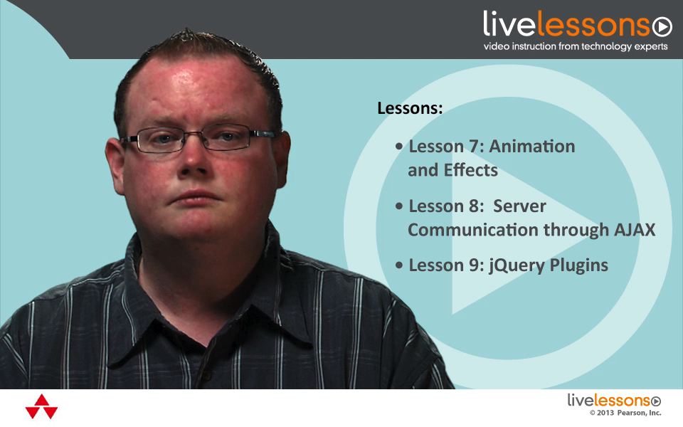 jQuery Fundamentals LiveLessons (Video Training), Downloadable Version