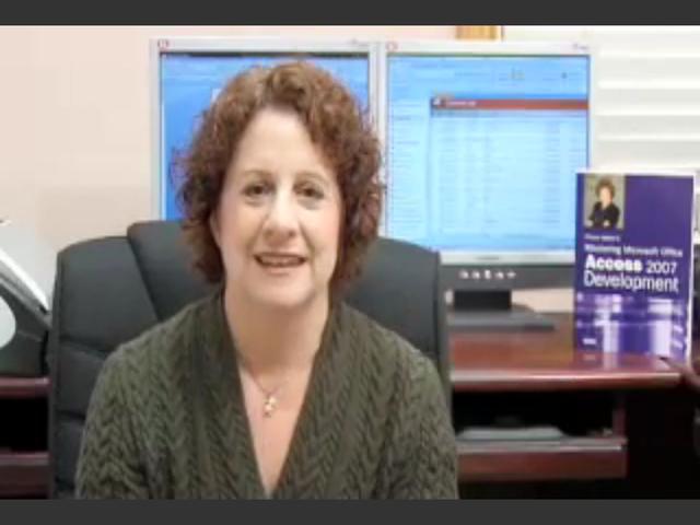 Microsoft Office Access 2007 LiveLessons (Video Training)