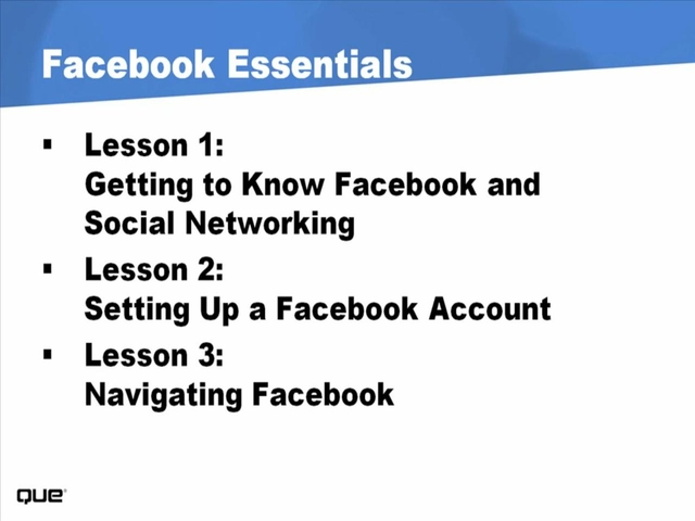 Facebook Essentials (Video Training), 2nd Edition