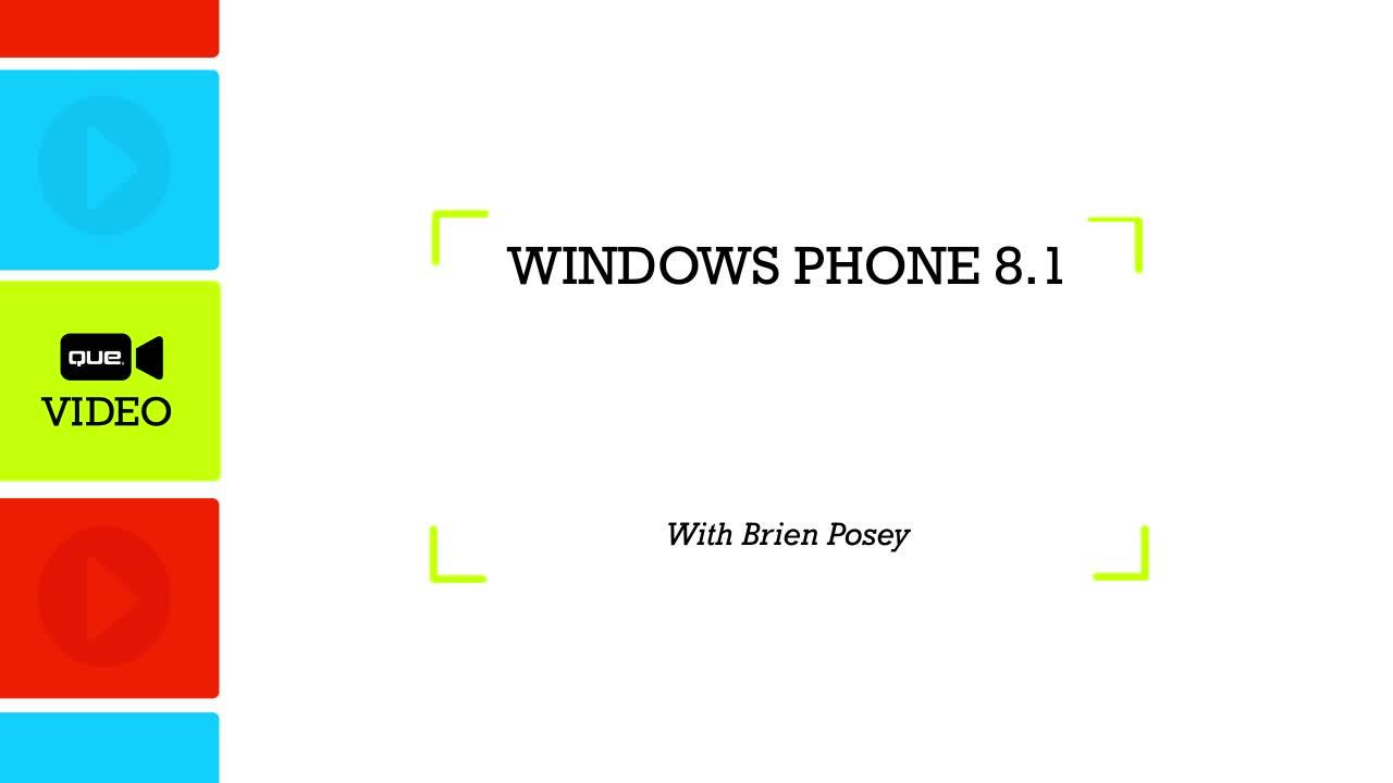 Windows Phone 8.1 (Que Video), Downloadable Video
