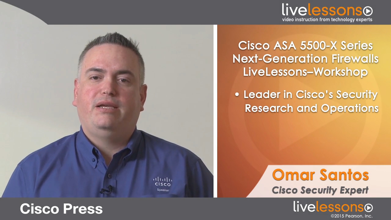 Cisco ASA 5500-X Series Next-Generation Firewalls LiveLessons (Workshop) (Download): Deploying and Troubleshooting Techniques