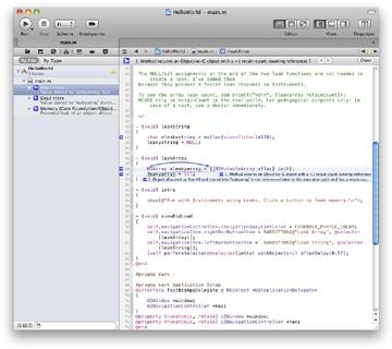 Xcode 3.2.5