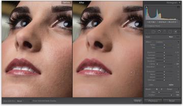 Как в лайтруме сделать кожу