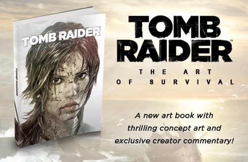 Tomb Raider Artbook