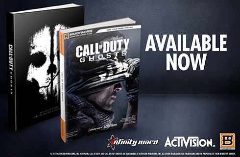 Call of Duty: Ghosts Official Strategy Guide available for sale at BradyGames.com