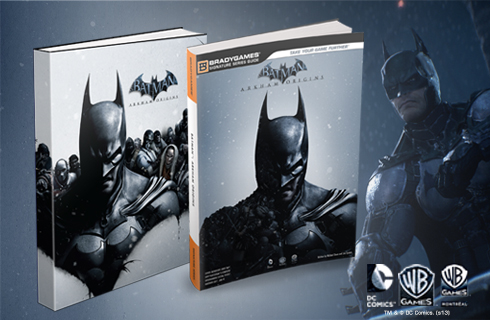 Batman Arkham Origins Official Strategy Guide available for sale at BradyGames.com