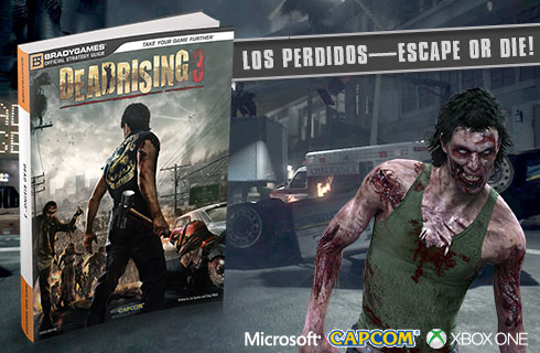 Dead Rising 3 Official Strategy Guide available for sale at BradyGames.com