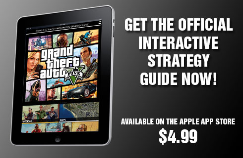 Grand Theft Auto Official Interactive Strategy App available for sale at the Apple App Store