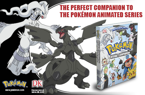 Pokémon Visual Companion available for sale at DK.com