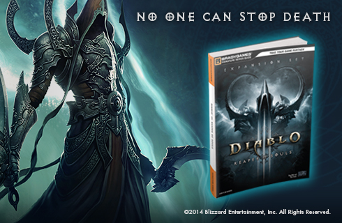 Signature Series Diablo III: Reaper of Souls is available for sale at bradygames.com