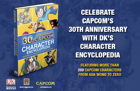 Capcom 30th Anniversary Character Encyclopedia available for sale at DK.com