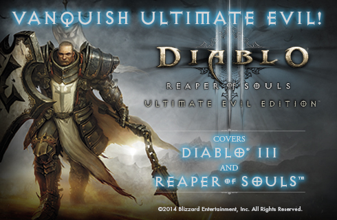 The Diablo Reaper of Souls Ultimate Evil Edition Official Strategy Guide available for sale at BradyGames.com