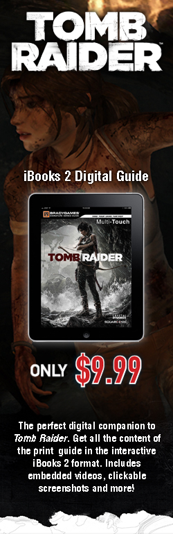 GET the Tomb Raider iBook!