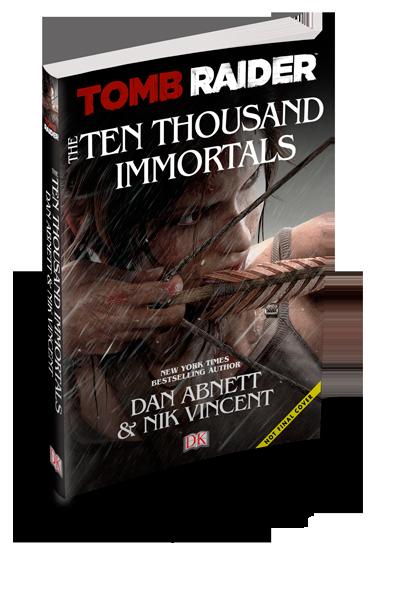 Tomb Raider: The Ten Thousand Immortals é anunciado; livro contará a história que antecede Rise of the Tomb Raider Ten-Thousand-Immortals
