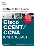 GCCENT/CCNA ICND1 Official Cert Guide