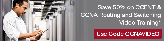 Save 50% on New CCNA Videos
