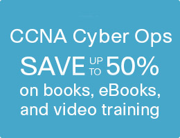 Save up to 50% on CCNA Cyber Ops Learning Materials